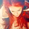 the ineffable: stock - woman red head