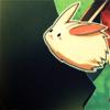 rabbit over moon