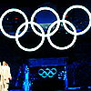 "Olympics 2010 ""Opening Ceremonies rings"""