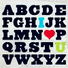 random: abc...I <3 U