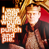 merlin | U | punch and pie