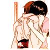 Wonderful Electric.: Akito and Tohru Huggle