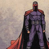 [marvel] magneto - shadowed face