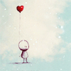 Manu: tiny with small heart balloon