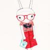 젬젬 gemgem: bunny glasses