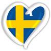 Sverige Heart