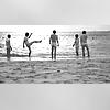 [DBSK] b&w beach