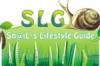 SLG white logo
