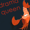 Movie - The little mermaid - Drama queen, Emo - Drama queen