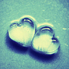 ernieduckie: glass heart