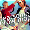 Wash/Zoe - Fearsome brow mop