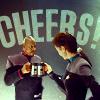 Becky: Trek cheers