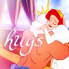 jungle_ride: Ariel&Triton (hugs)