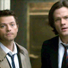 sherrilina: Sam and Cas (Supernatural)