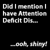 shinu: Attention Deficit Disorder
