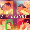 xdreaminghumble: disney » I ♥ my couples.