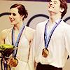 Vancouver 2010; Tessa and Scott gold