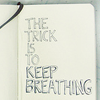 Kalena: the trick is to keep breathing