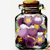 Drifloon in a jar.