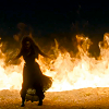 bukkake sensei: Bella and fire