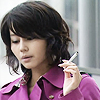 M, the Literary Lemming: Jdrama - Tokujo - Maki Smoking