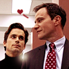 Campaspe: White Collar \\ Neal&Peter; hearts