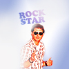 elenajs: Jensen rockstar