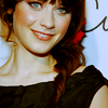 madeelly: zooey - smile