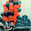 neuromancer: Audrey Hepburn {balloons}