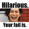 松本潤 ♣ Hilarious really