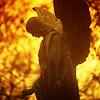 prague: sunset, prague: angel