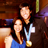 Evan- and Michelle at the Olympics