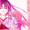 syolen: Kenshin/Kaoru pink hue