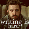 { embracing the storm }: SPN: Writing is hard