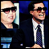 Stephen Colbert and Kim Jong Il!