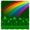 4 Leaf Clovers & Rainbow