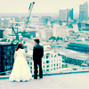 Kirinin: rooftopwedding