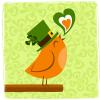 St. Patricks's Day Bird
