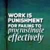 i procrastinate