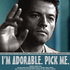 These aren't the droids you're looking for.: adorable Cas (SPN)