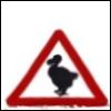 Dodo roadsign