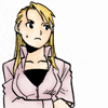 First Lieutenant Riza Hawkeye: Anxiety