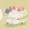 Mina: puppy cake