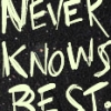 Random - Never Knows Best