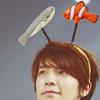 Gem: donghae with eunhae headband