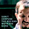 jayne = big guns