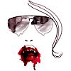 vampire and glasses