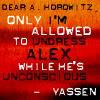 undressing alex icon yassen