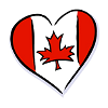 caress your associative mind: Canada heart