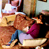 it's a secret: [castle] -- kate; couch